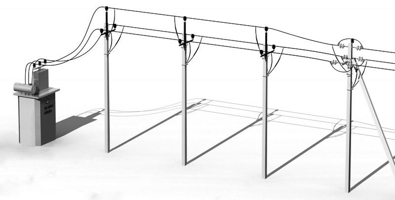 Защита высоковольтных линий при помощи разрядников РДИМ-10-1,5-IV УХЛ1